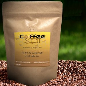 coffee scent product pack